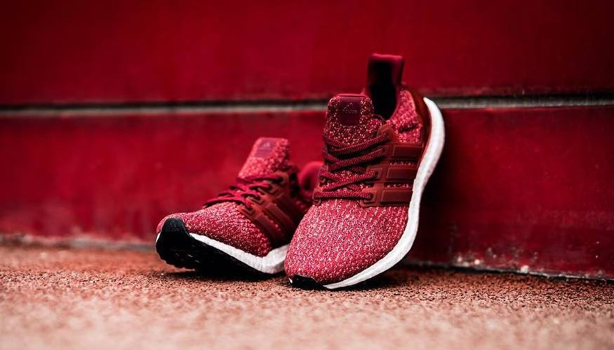 best service 2aee3 2f1f1 Adidas Ultra Boost 3.0 Burgundy Toe