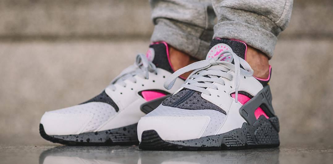 Nike Air Huarache ACG Grey Pink 852628 002  
