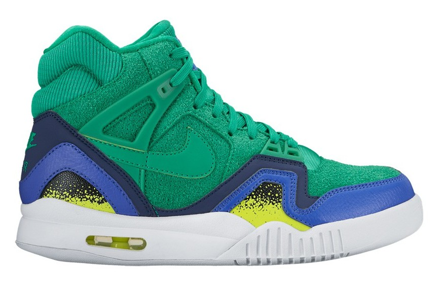 buy popular a3ef1 98cdb Nike Air Tech Challenge 2 Women s Stadium Green Volt Black 857879-301