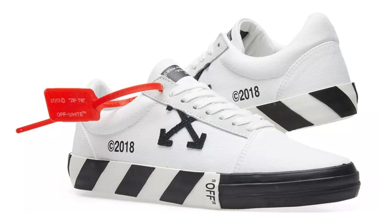 Off-White Sneakers Look Like Vans