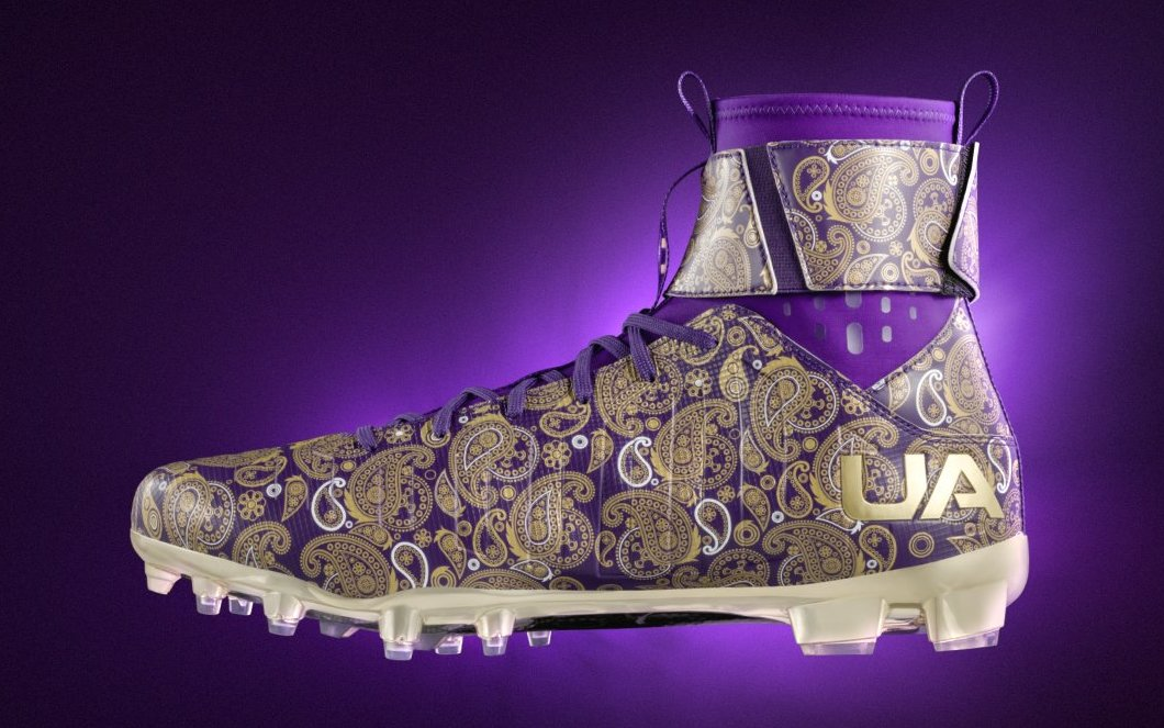 Cam Newton Prince Cleats Medial