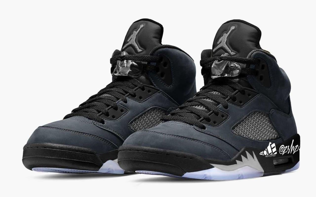Air Jordan 5 Retro 'Anthracite' Release