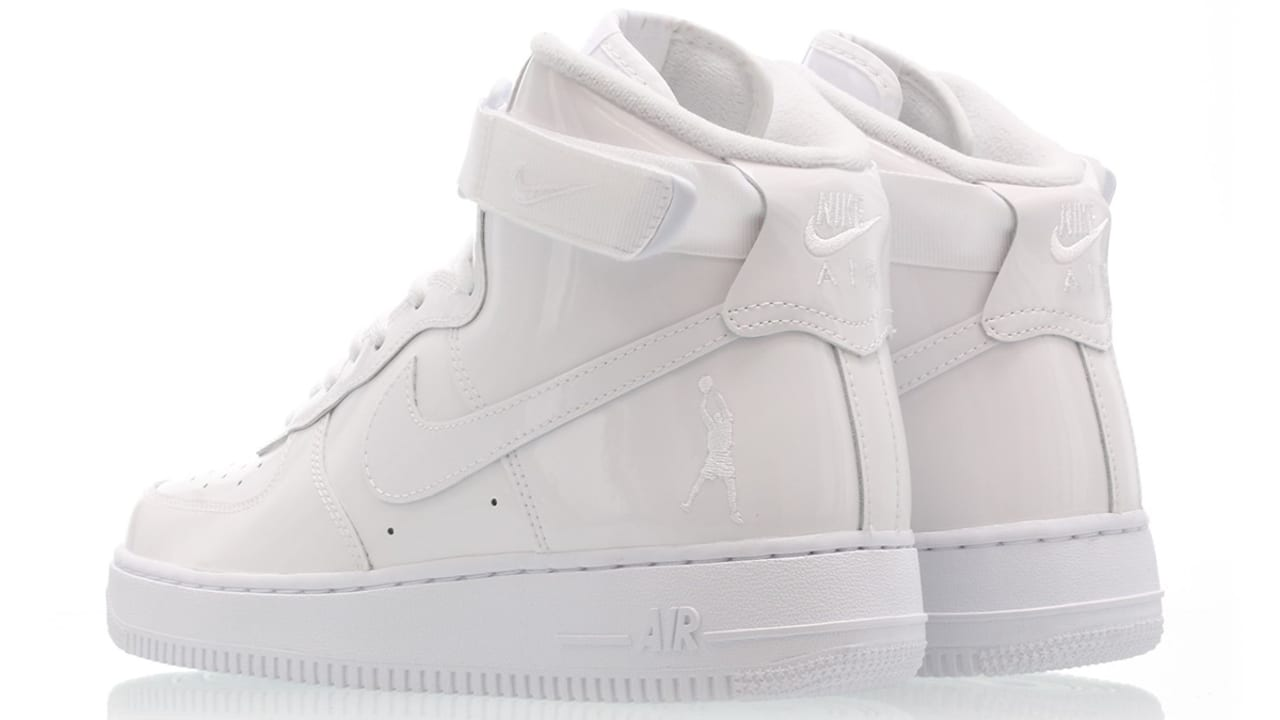 Nike Air Force 1 High 'Sheed' White/White-White 743546-107 Release ...