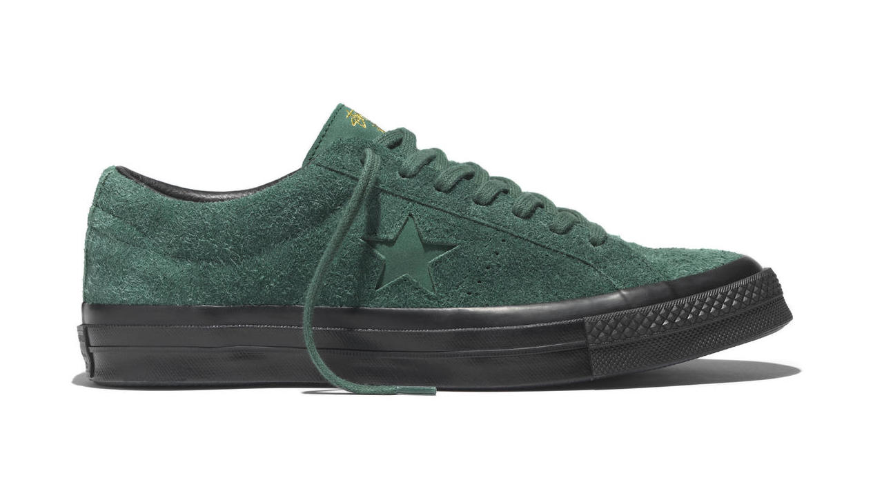 converse one star dark green