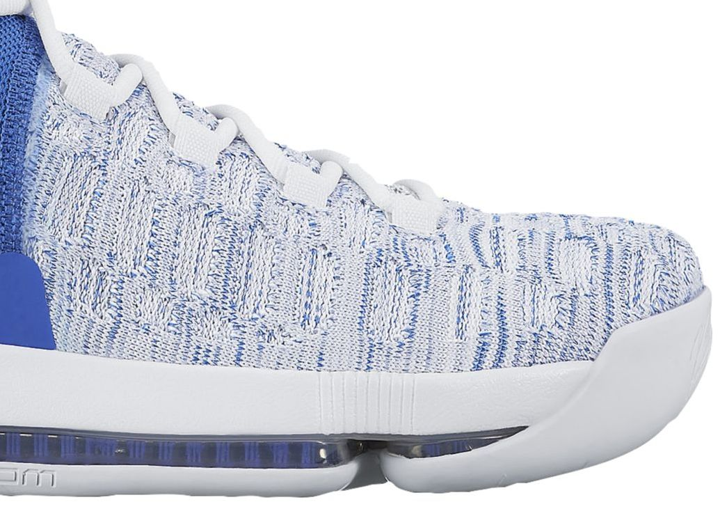 Nike KD 9 Home II White Blue Release Date 843392-411  6c7d6837a