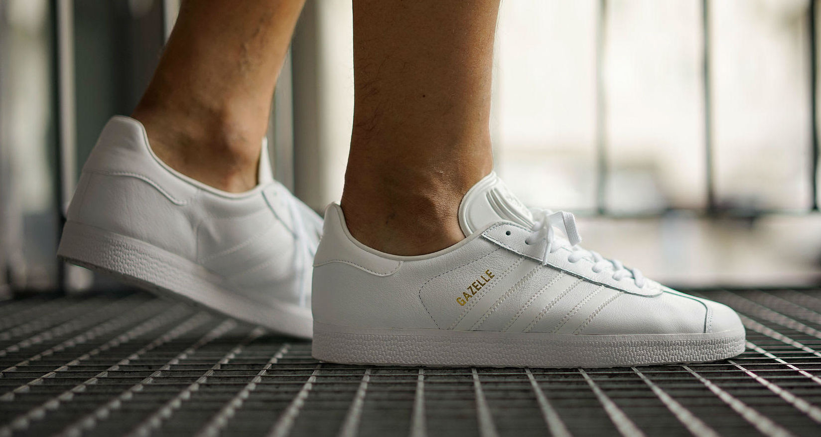 Adidas Gazelle Triple White