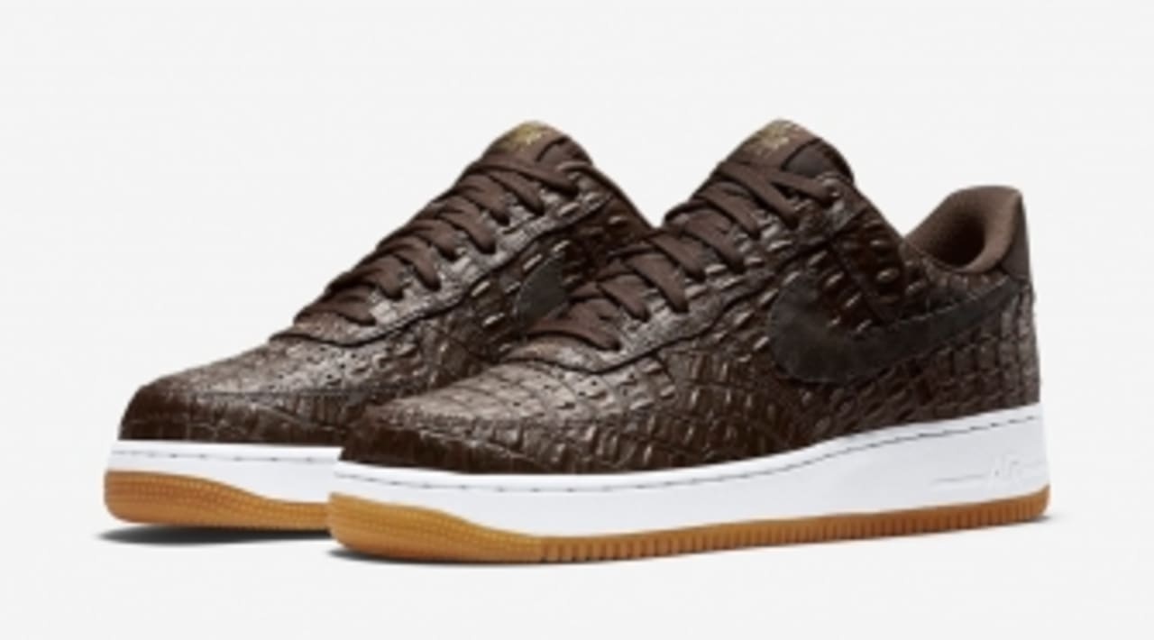 Croc Skin Air Nike The Collector Force 1Sole Covers Nk0wnP8XO