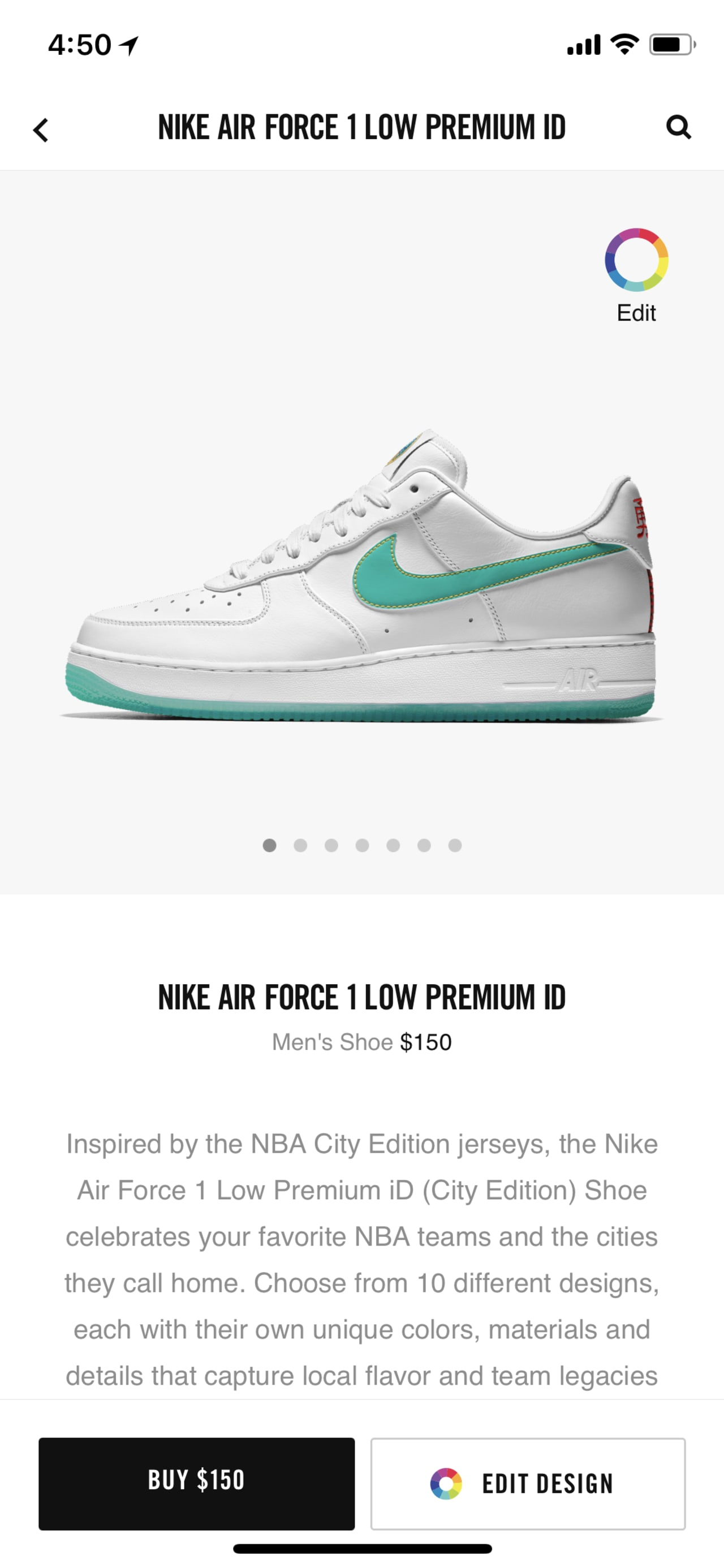 Air City CollectionSole Force Edition' 'nba 1 Nike Collector wk8P0OXNn