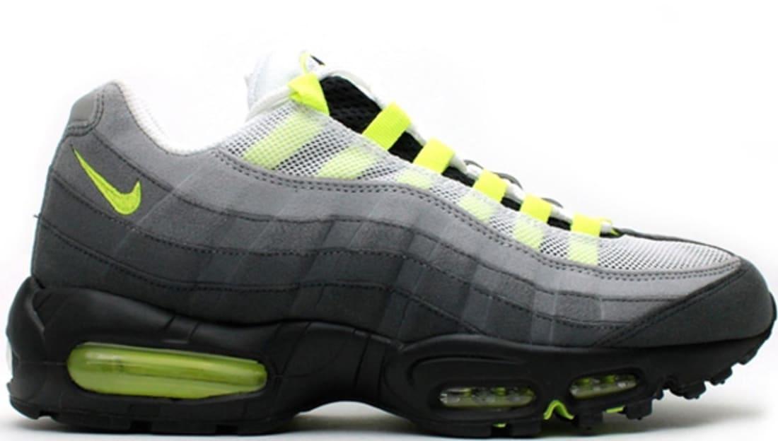 Og Nike Air AnthraciteSole Max Black '95 Whiteneon Yellow shQrdCtxB