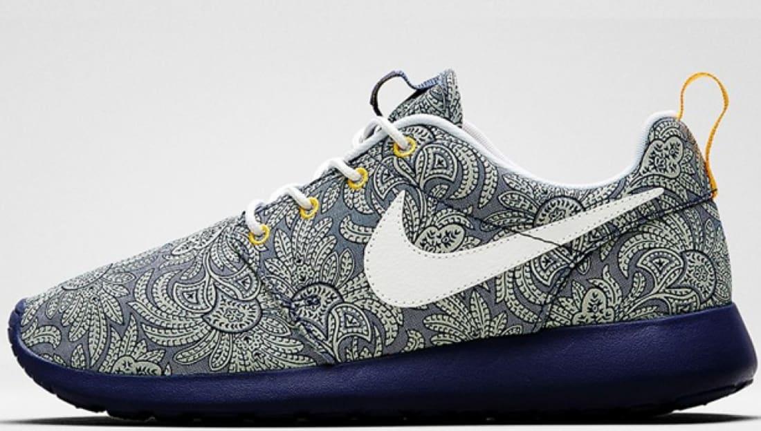 online store 85fc2 5e506 Recallwhite Atomic Blue Nike Roshe Run Liberty Mango Women s xaXTq