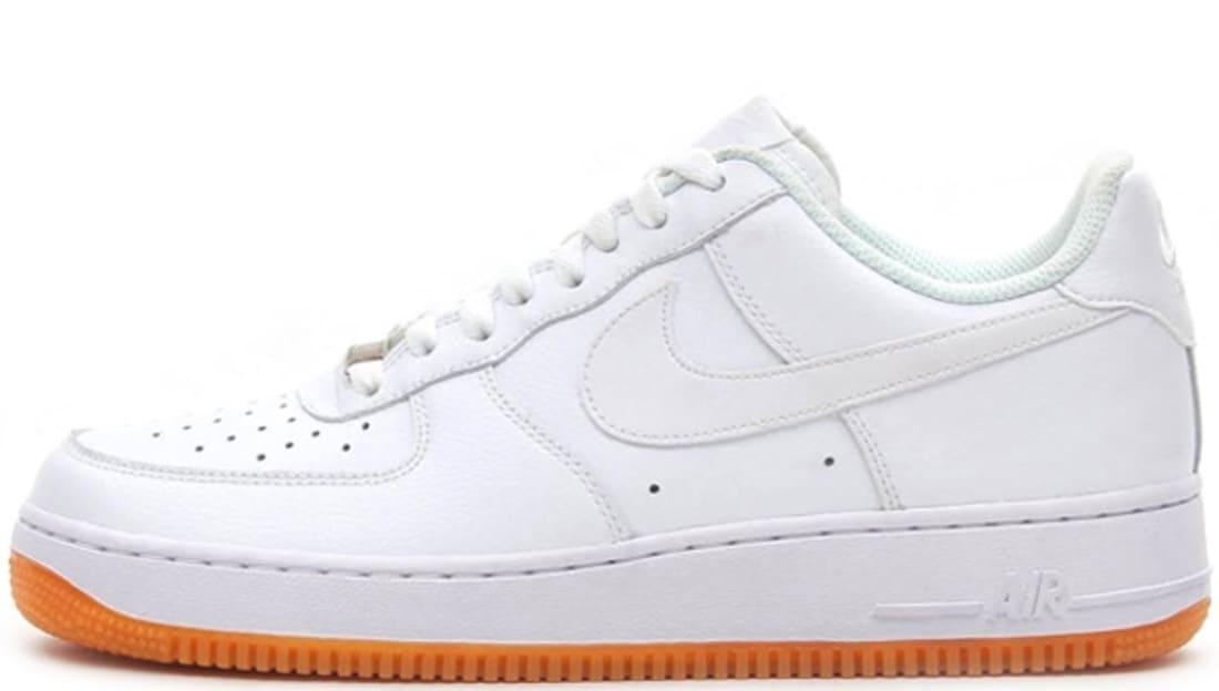 Whitewhite Low Force BrownSole 1 Air Gum Nike Medium ZXiOPku