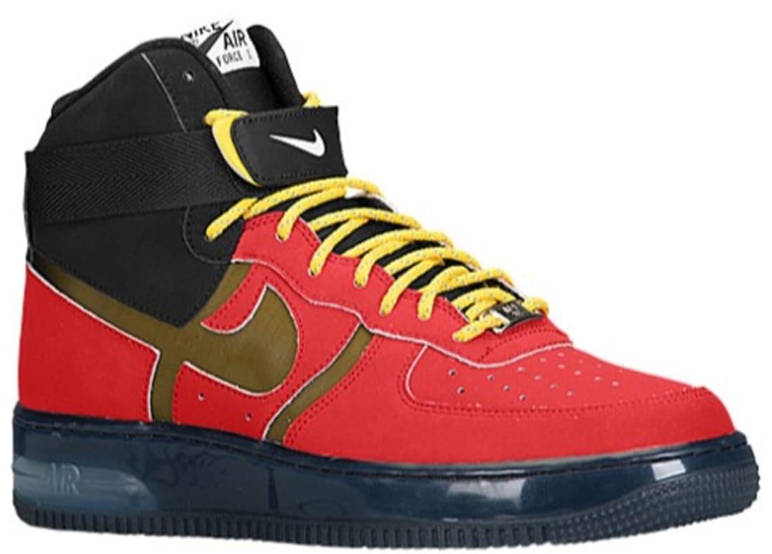 Force High University Redblack Supreme Air Bakin' Nike 1 9HEIWD2