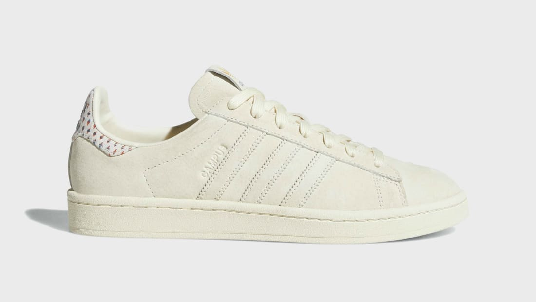 adidas Originals CAMPUS PRIDE - Trainers - cream white/trace pink/trace scarlet GoHmr