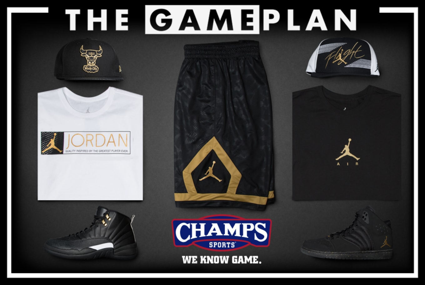"""c062d6b6717b3 The Game Plan by Champs Sports Presents the Jordan """"Master"""" Collection"""