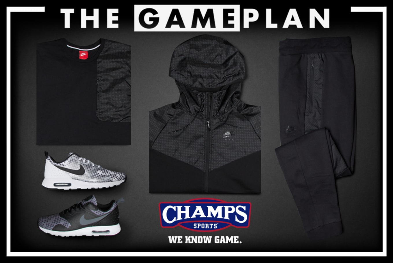 aa66747b422e5 The Game Plan by Champs Sports Presents the Nike Hybrid Collection ...