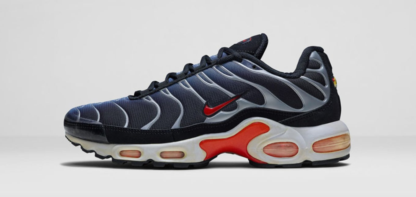 low priced fe438 c1efa Nike Air Max Plus. These are the kind of kicks that I would cop and never  wear because I don't know if I could pull them off. There's something  futuristic ...