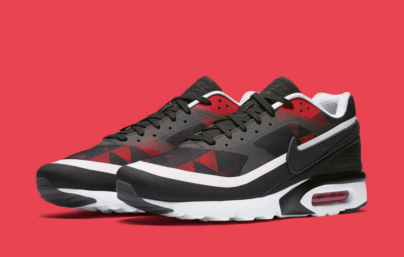 livraison gratuite 99ade c3d5f Nike Air Max BW Ultra Graphic Black University Red White ...