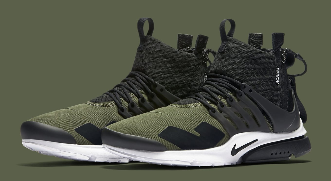 Acronym Nike Air Presto Olive | Sole Collector