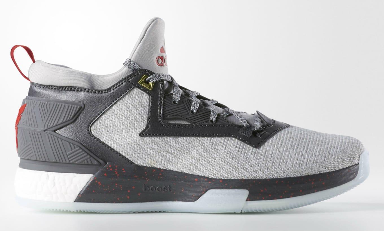 new product 98b86 0d400 adidas D Lillard 2 Boost Heather (1)
