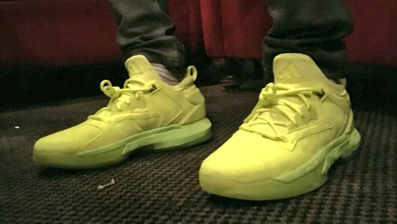 2b384dbcdb6c adidas D Lillard 2 Tennis Ball Yellow