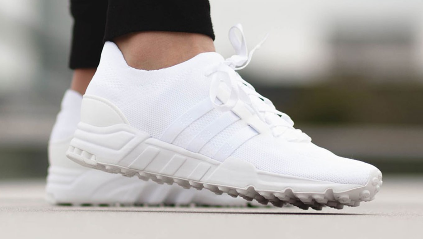 finest selection 8471a 81be5 Adidas EQT Support Primeknit White | Sole Collector