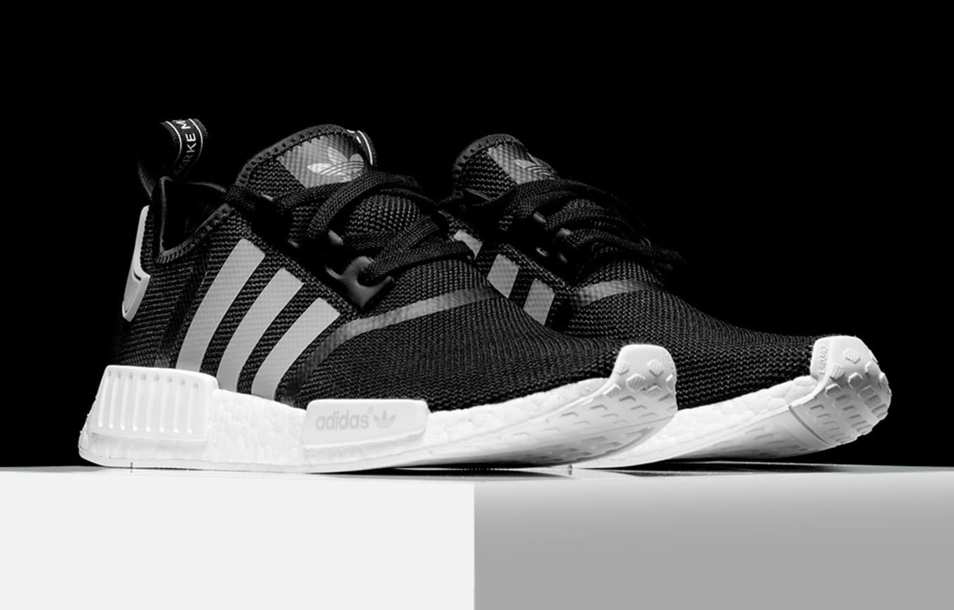 318896b84 Adidas NMD Black Grey White