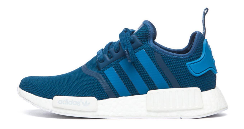 low priced 277b4 453c8 Adidas NMD Blue White