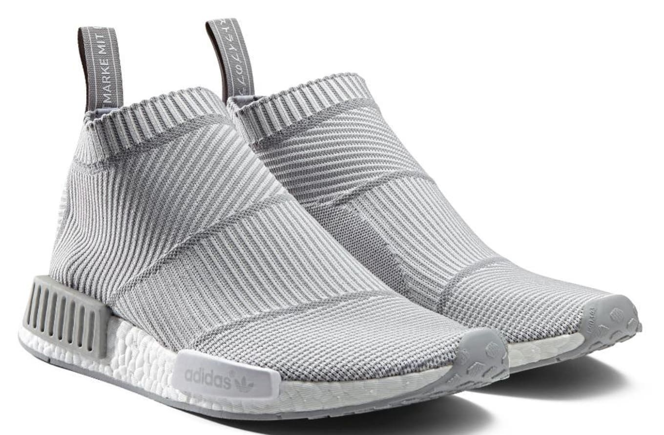 88f16e921 adidas NMD City Sock Blackout Whiteout   Sole Collector