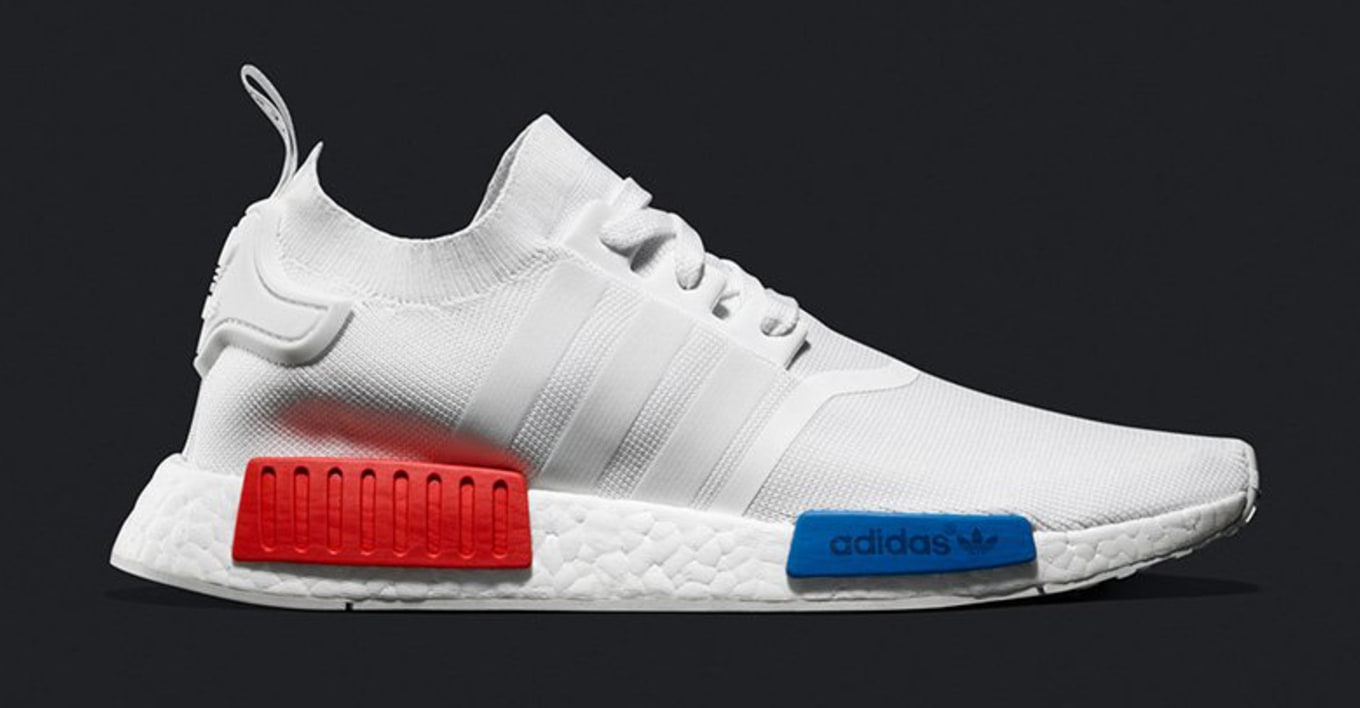 a2b1428b7e41 Adidas NMD Runner PK White Red Blue