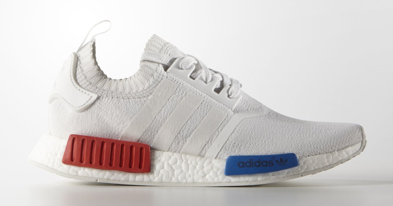 separation shoes f4cde 7a0a1 Adidas NMD Primeknit White Blue Red | Sole Collector