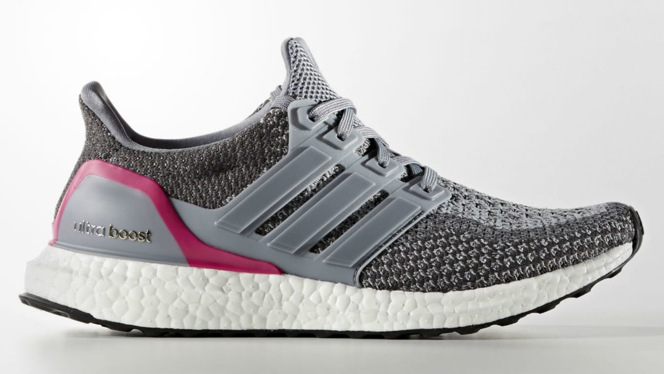 adidas Ultra Boost GreyShock Pink | Sole Collector