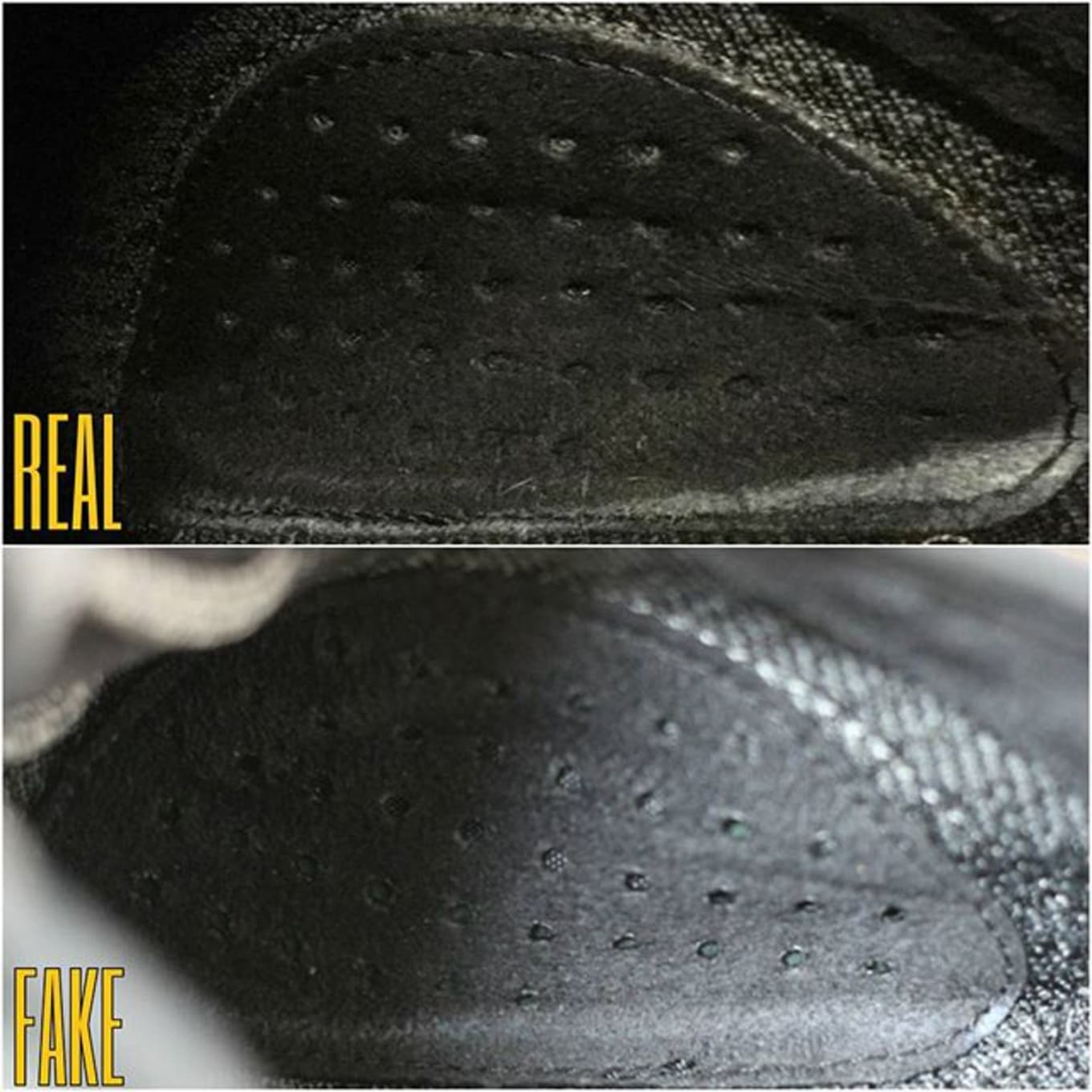 c4d1e0a25de adidas yeezy boost 350 pirate black real fake | Sole Collector