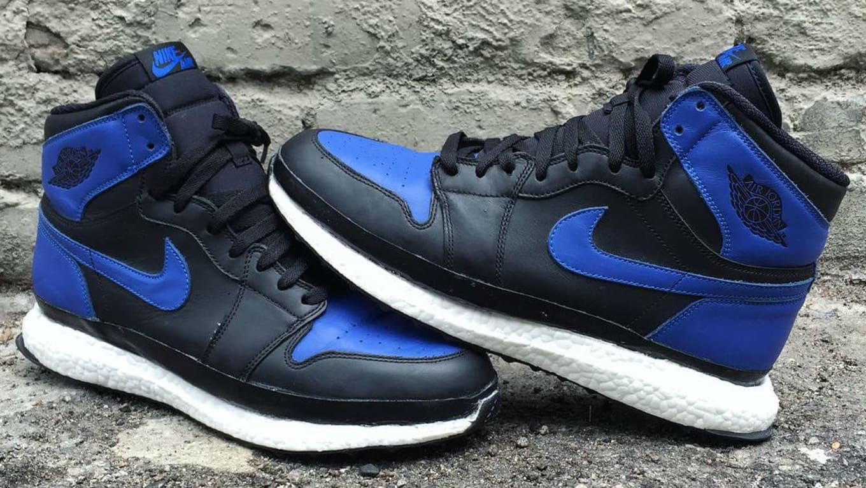 amazone schoonheid top kwaliteit Air Jordan 1 Ultra Boost Custom by The Shoe Surgeon   Sole ...