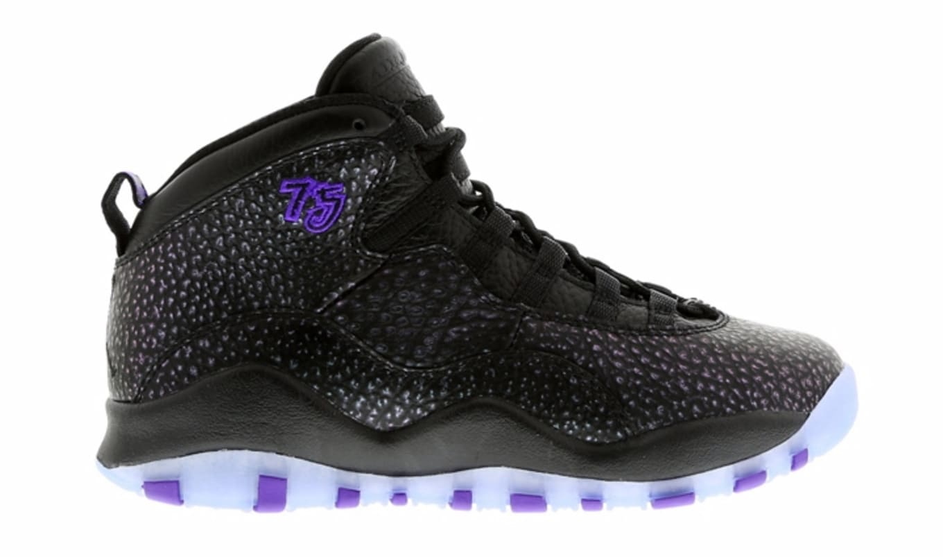 check out 3ef53 345b1 Air Jordan 10 Black Purple | Sole Collector