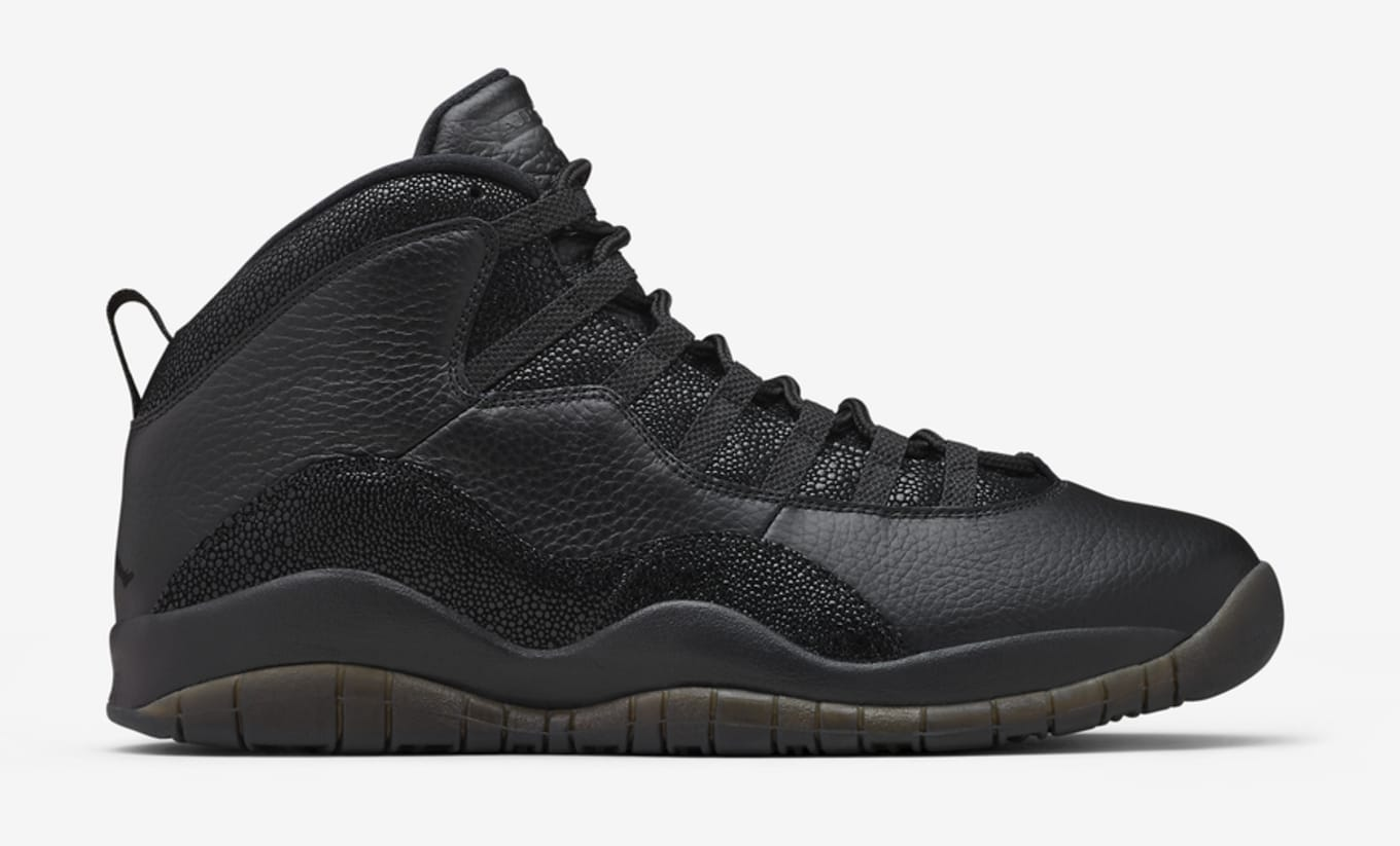 los angeles 51b71 311e2 Air Jordan 10 Retro  OVO Black