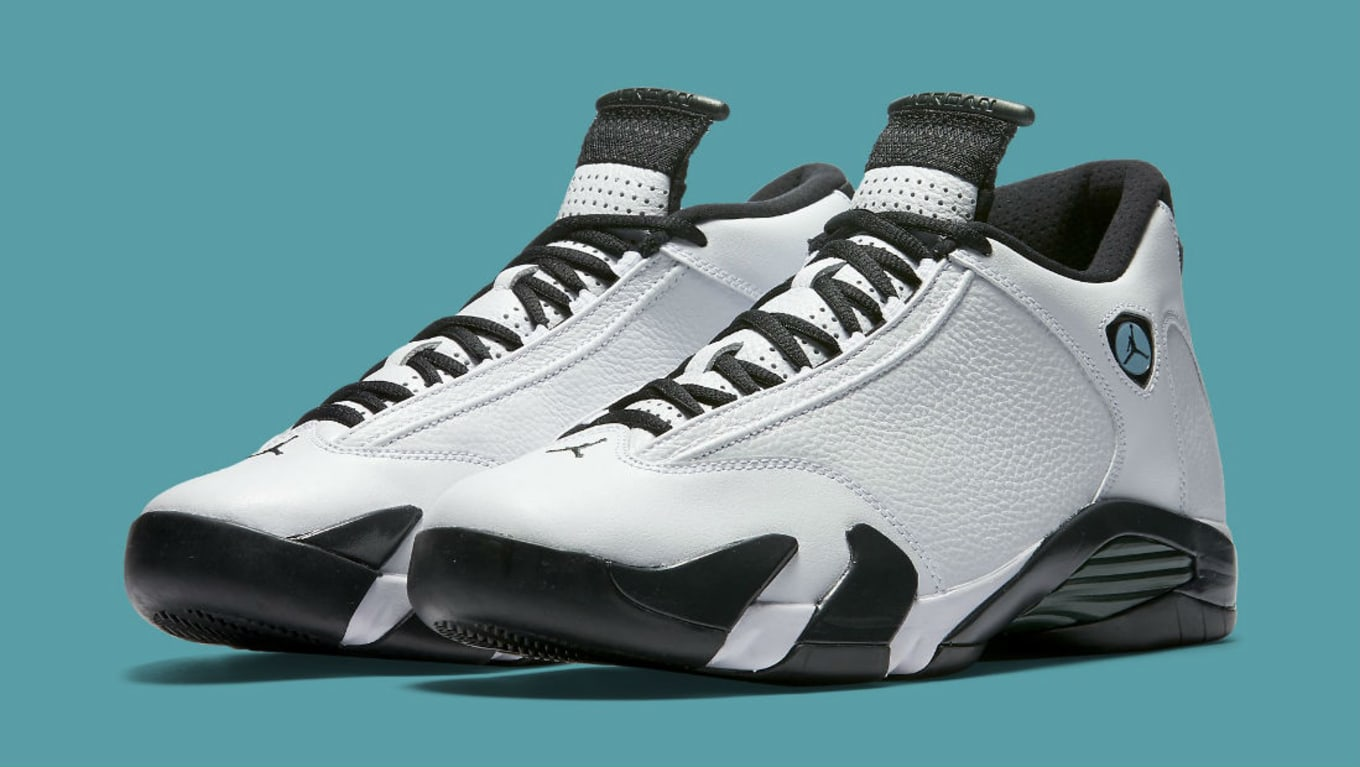 ee5310ed9e47 Air Jordan XIV 14 Oxidized Green 487471-106 (1)
