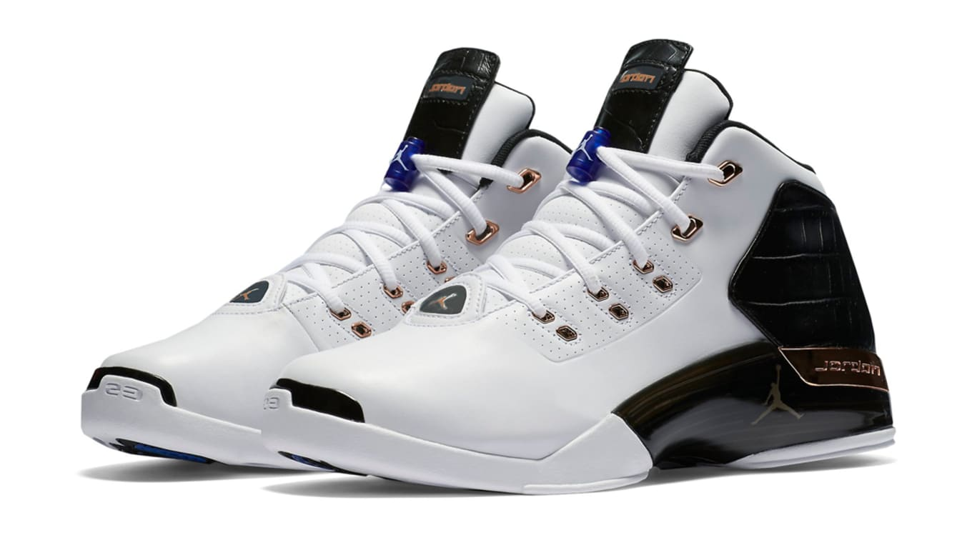 buy popular b56c9 c5dfd Air Jordan 17+ Retro Copper Release Date | Sole Collector