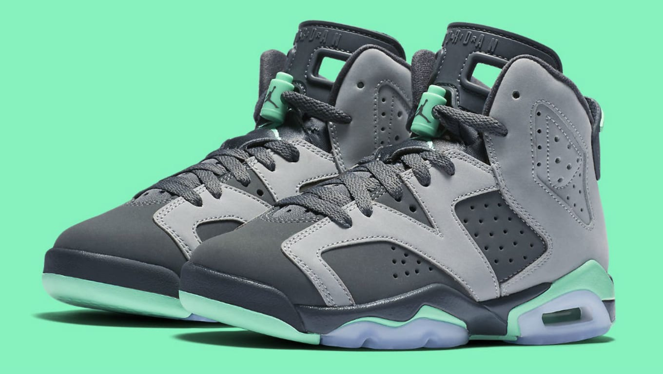brand new 38882 6a7bb Air Jordan 6 GG Green Glow 543390-005 (1)