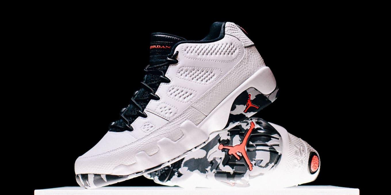 ee0b3d26c362 Air Jordan 9 (IX) Low. Images via Nike