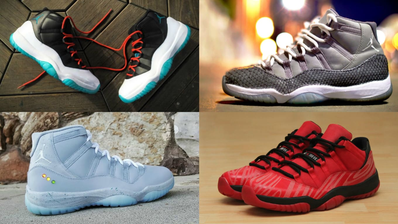 The Best Air Jordan XI 11 Customs  6ba5c014a28f