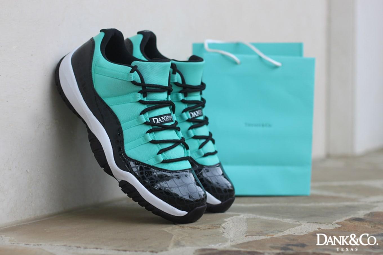 sports shoes e8b56 74c5c Air Jordan XI 11 Low Tiffany Custom by Dank