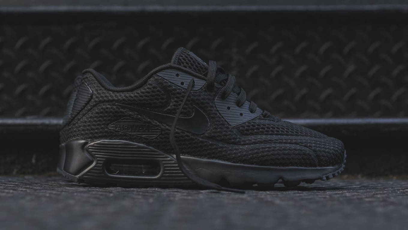 reputable site b1eab 972d9 Nike Air Max 90 Ultra BR Black 725222-010 (1)
