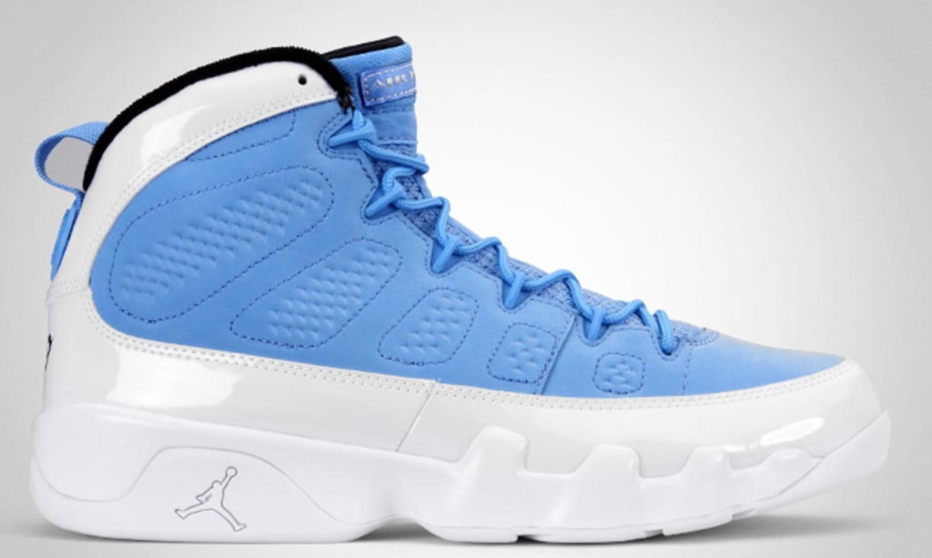 pretty nice d99b6 21987 Air Jordan 9 (IX). Style Code  302370-401. Colorway  University Blue Black- White