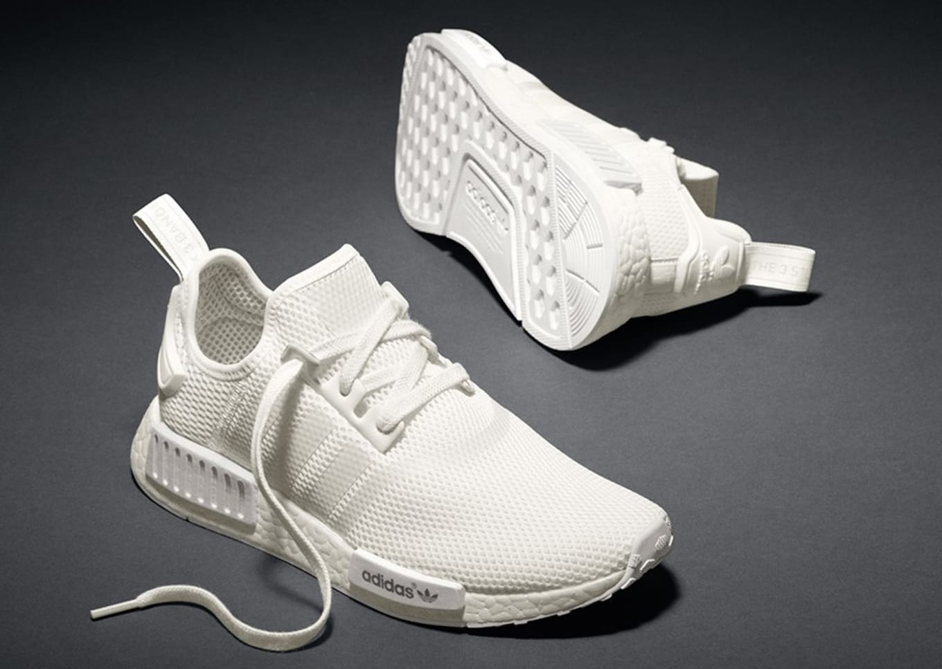 online store 93428 8ed78 White Adidas NMD   Sole Collector