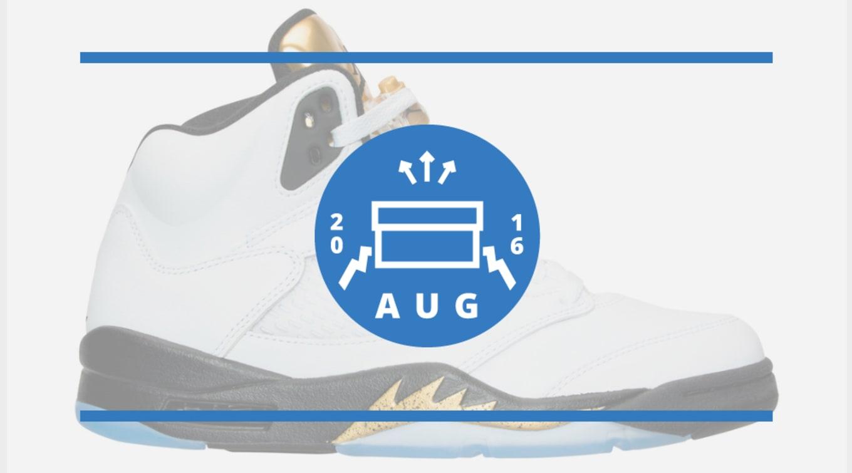 big sale 396aa efe45 August Jordan Release Dates 2016