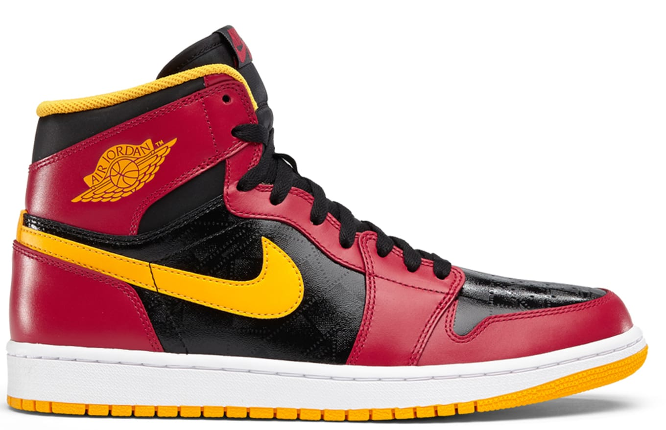 2226e43b905e Air Jordan 1 Retro High OG Black Gym Red University Gold