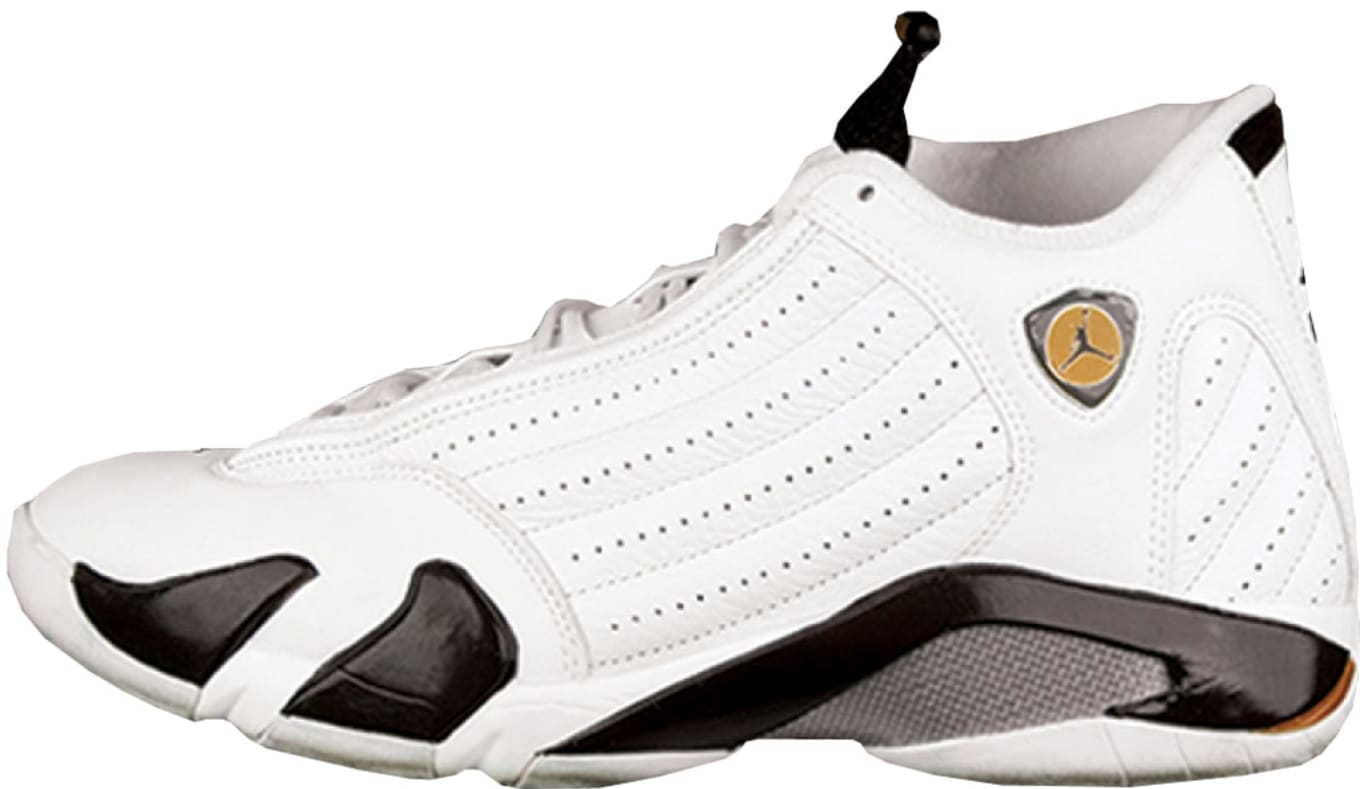 faa0d8604af7a9 Air Jordan 14 Retro  Cinder  Colorway  White Dark Cinder-Chutney Release  Date  10 29 2005. Original Price   150. Average Resell Value   316