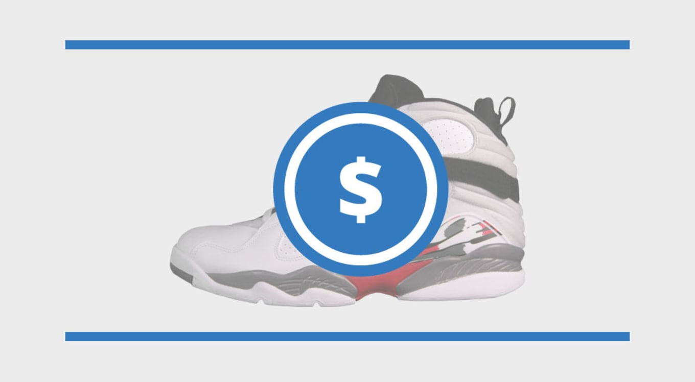 c13cbe2b29763b The Air Jordan 8 Price Guide