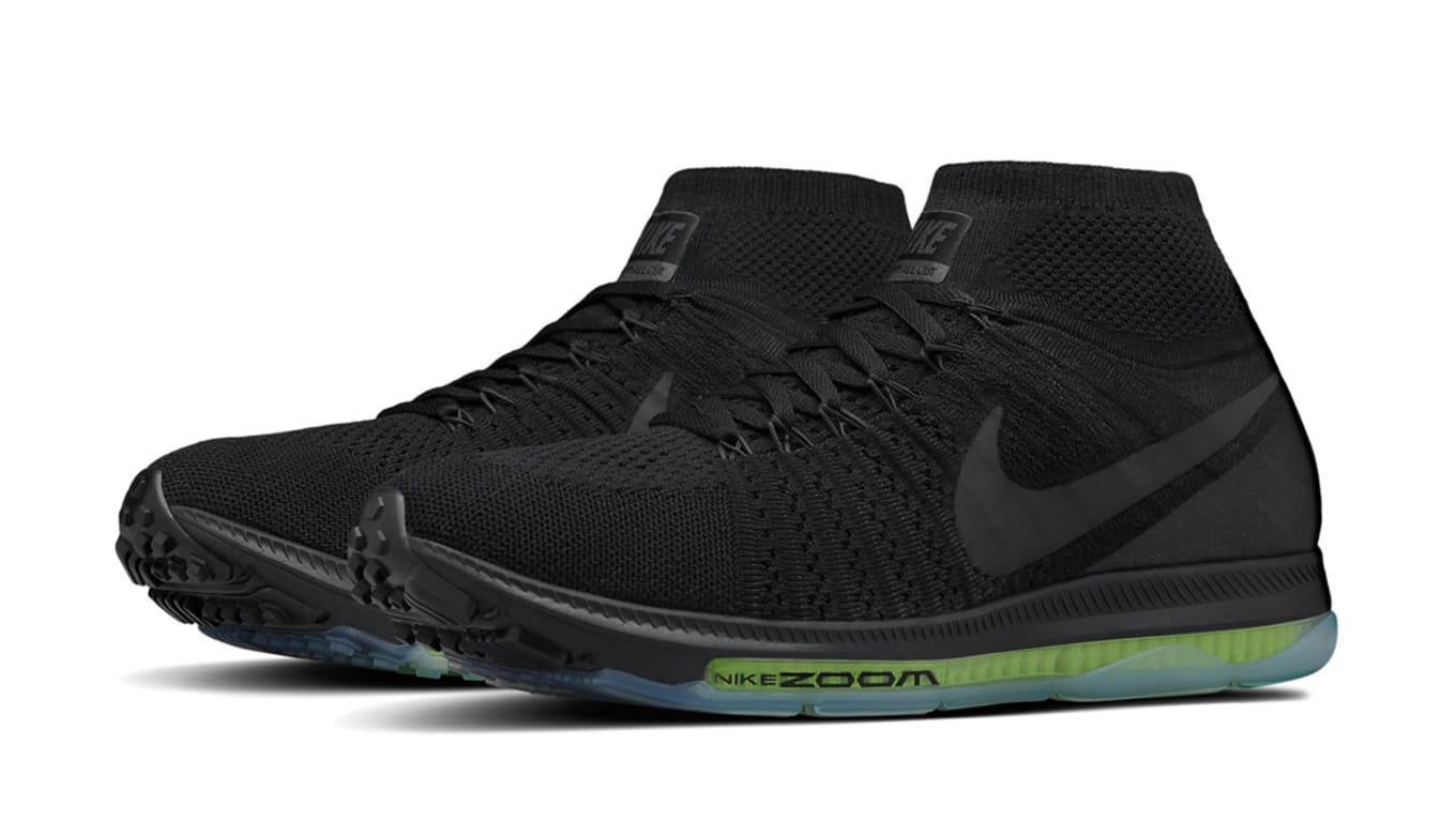 937ae6d979b4a NikeLab Air Zoom All Out Flyknit Black Volt Release Date