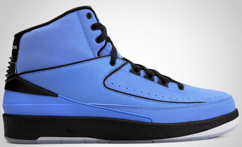 111305be9b9c1d Air Jordan 2 Retro QF University Blue Black White